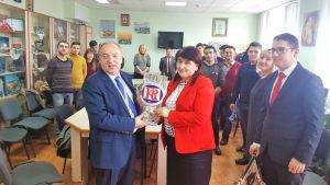 23.02.2018. Посол Турции посетил КГУ.