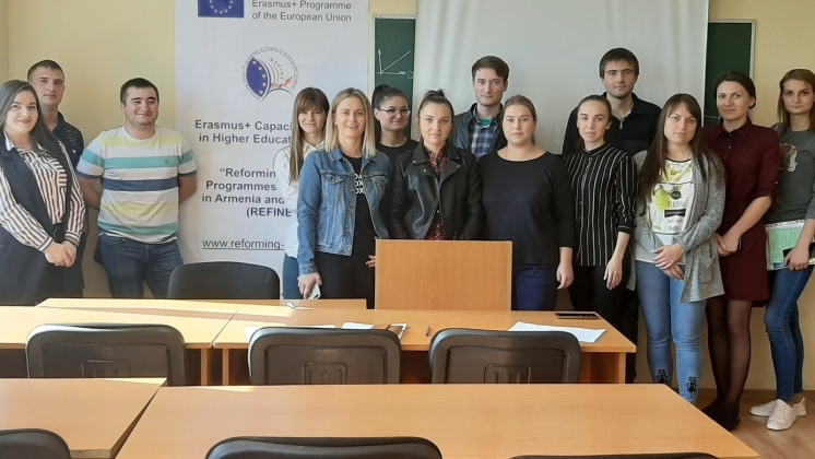 "Local reporting seminar for employees of the department and students of the master's program ""Сorporate finance"""