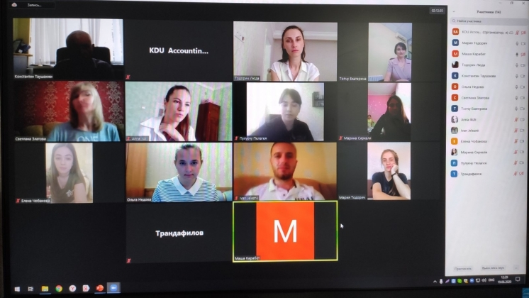 AN ONLINE CAMPAIGN MEETING WITH FULL-TIME GRADUATES WAS SUCCESSFULLY HELD WITHIN THE FRAMEWORK OF THE REFINE PROJECT