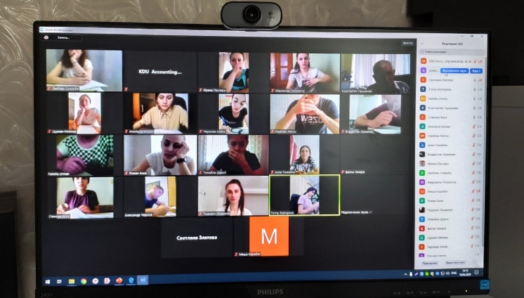 AN ONLINE CAMPAIGN MEETING WAS SUCCESSFULLY HELD WITH THE GRADUATES OF CORRESPONDENCE COURSES WITHIN THE FRAMEWORK OF THE REFINE PROJECT