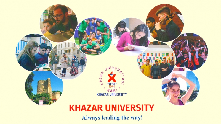 Khazar University is proud to announce the admission cycle and Khazar University International Scholarship Programs for the 2020-2021 academic year