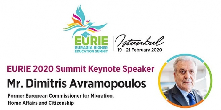 EURIE 2020 Summit Keynote Speaker | Mr. Dimitris Avramopoulos