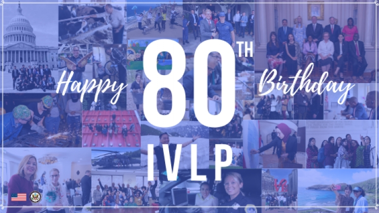 Happy 80th Birthday IVLP